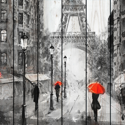 картин Париж