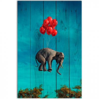 Слон с шариками