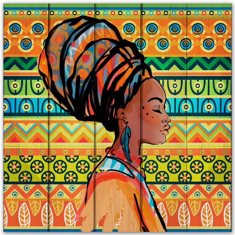 картина африканка