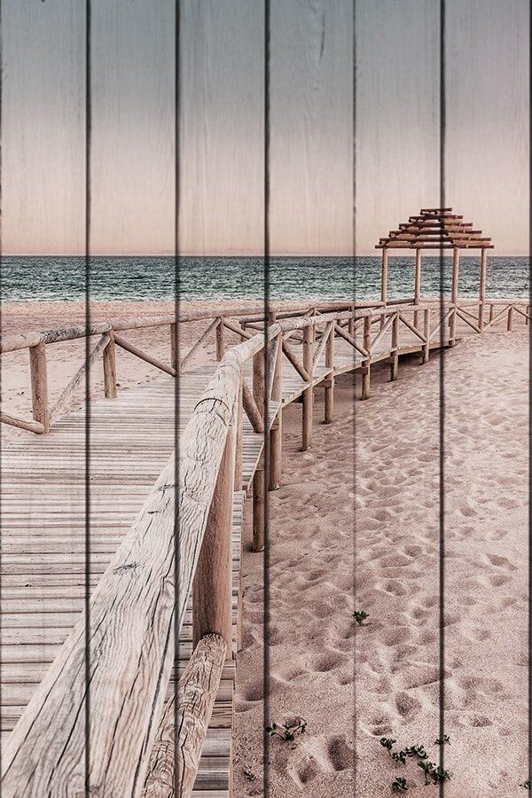 картина Мостик к пляжу