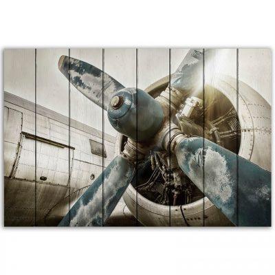 картина Старый самолет
