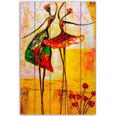 картина танцовщицы