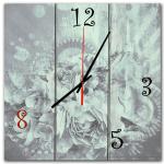 настенные часы в подарок дерево цветы