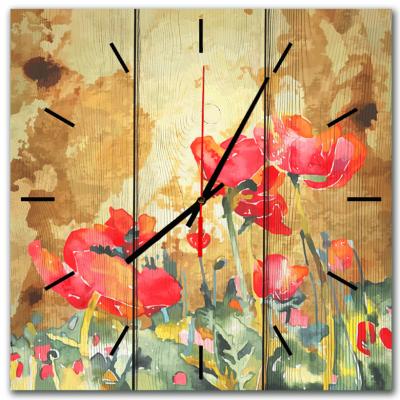 настенные часы ретро маки
