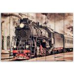 картины Старый поезд