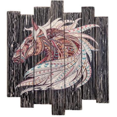 картина тотем лошадь