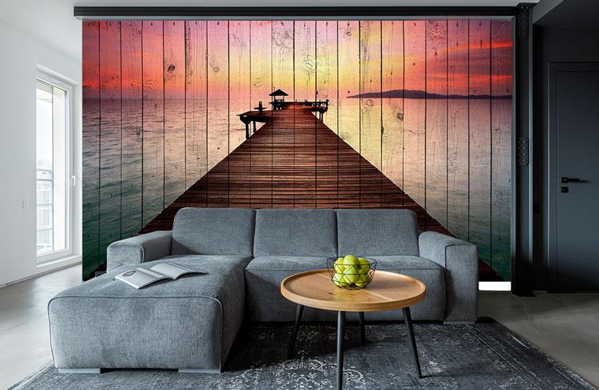 стеновые панели дерево