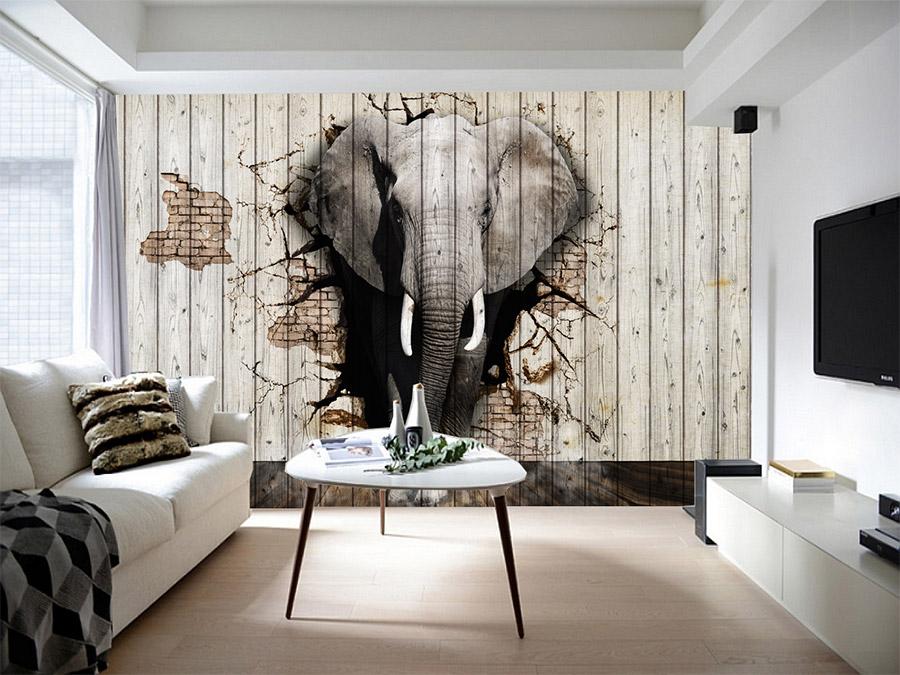 стеновые панели слон
