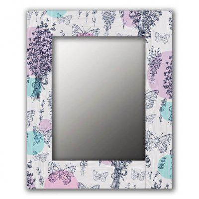 Настенное зеркало прованс