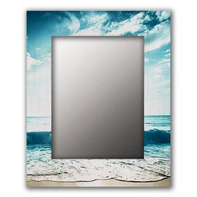 зеркало море