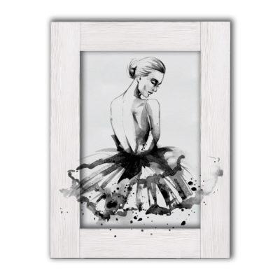 картина балерина