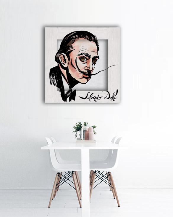 картина портрет Сальвадор Дали