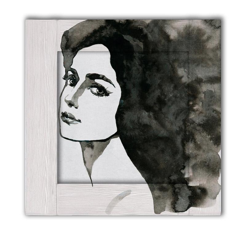 картина женщина