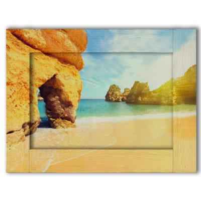 картина пляж