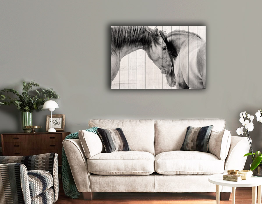 картина Лошади