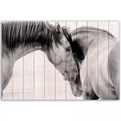 Картина Две Лошади