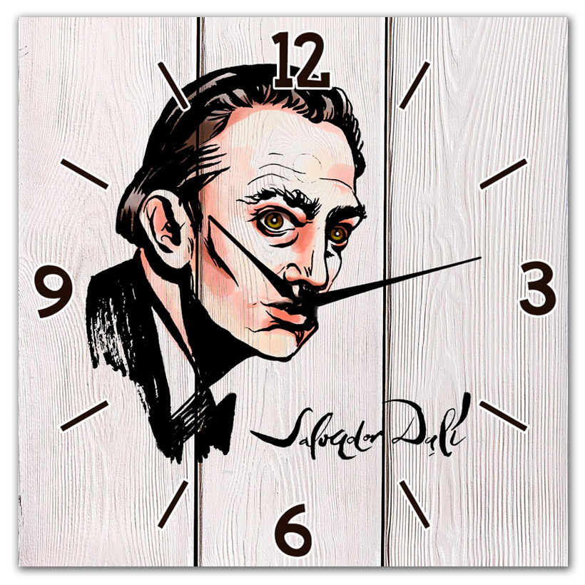Настенные Часы Сальвадор Дали