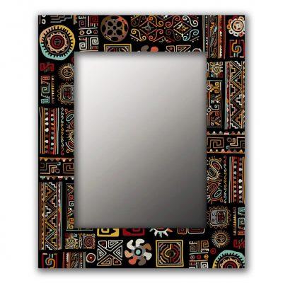 Дизайнерское зеркало в стиле лофт