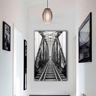 картина железная дорога