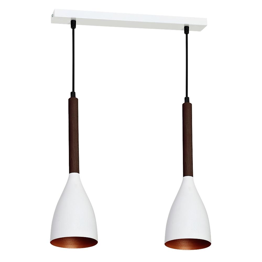 Потолочный светильник Luminex MUZA WHITE/GOLD DARK WOOD 9154