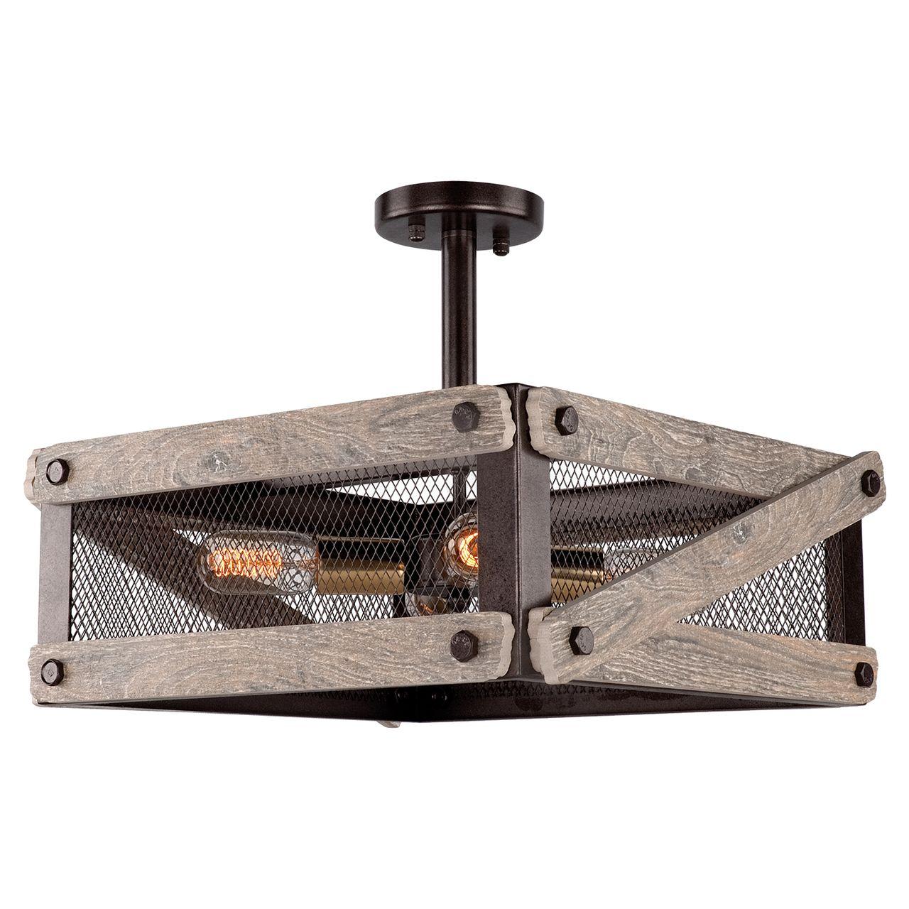 Потолочная люстра Lussole Loft LSP-9704