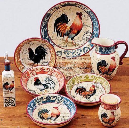 тарелки русский стиль