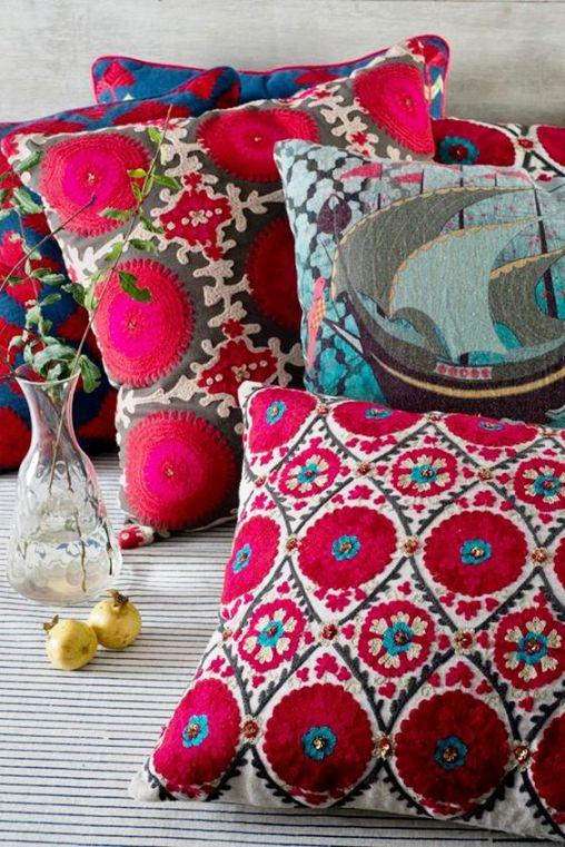 подушки русский стиль