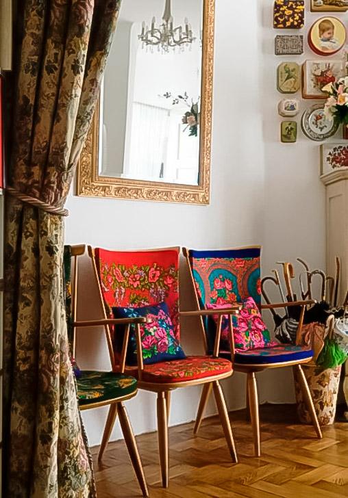 стулья в русском стиле