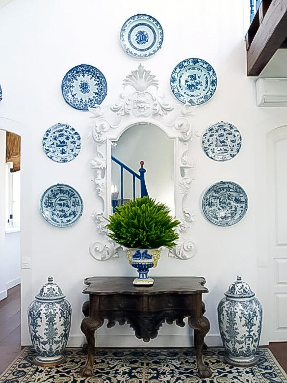 тарелки и вазы русский стиль
