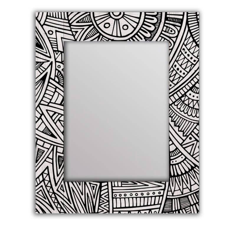 зеркало в этническом стиле