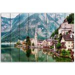 картина Гальштат Австрия