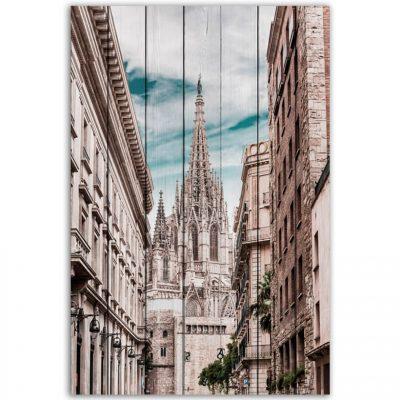 картина Собор Барселона