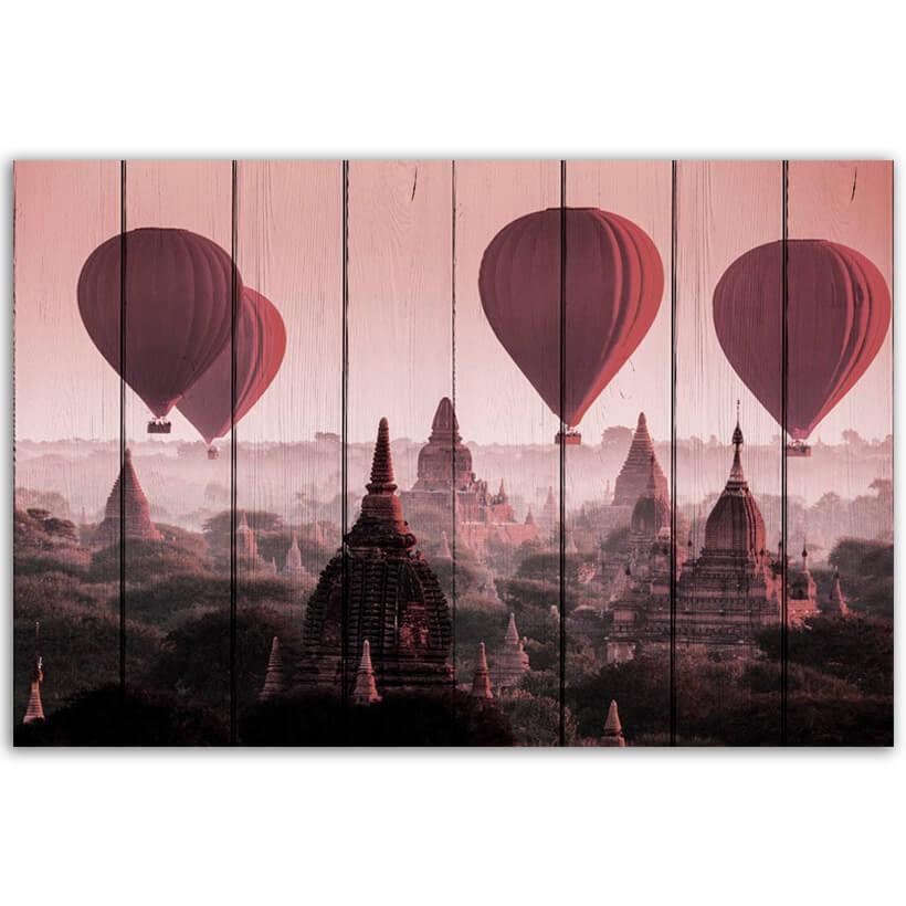 картина воздушные шары