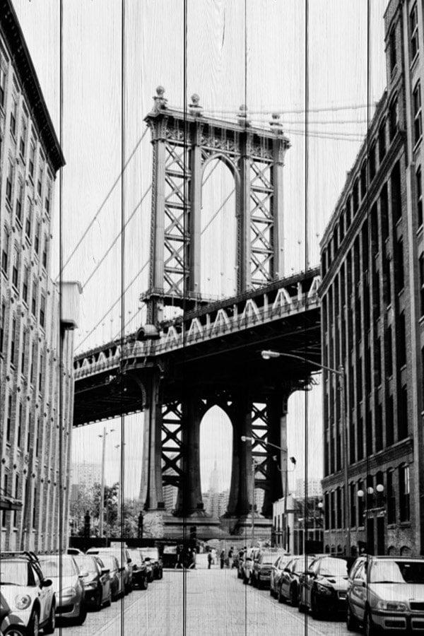 картина Мост Манхэттен
