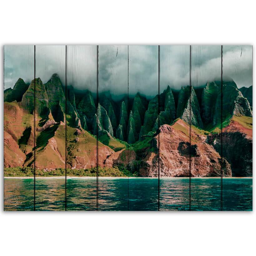 картина Горы Гавайи