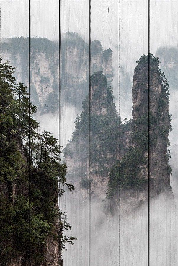 картина горы Китай