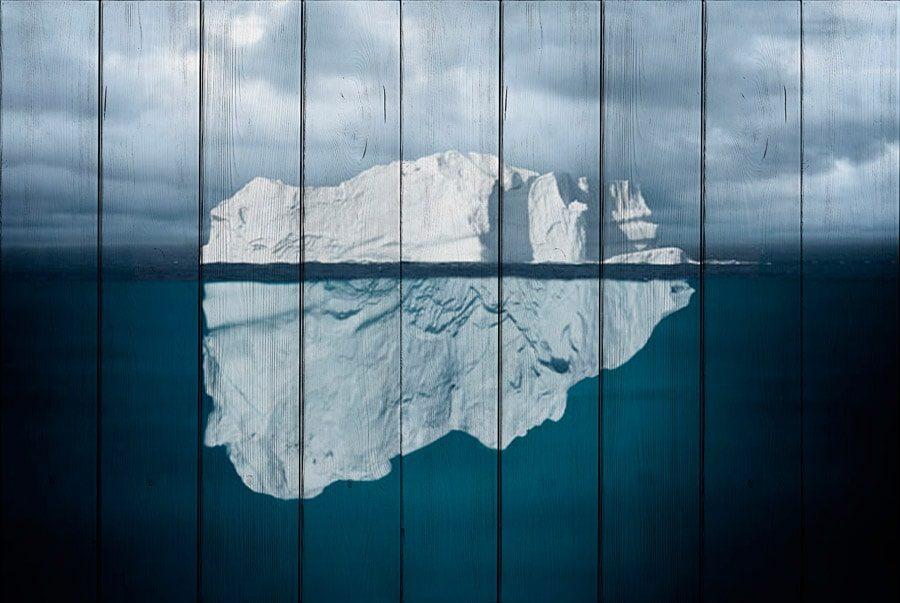 картина айсберг