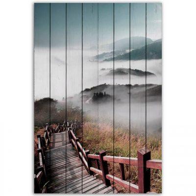 картина лестница в облака