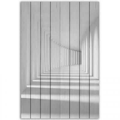 картина белый коридор