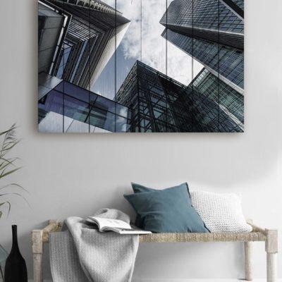 картина небоскребы лондона