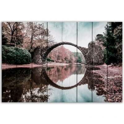 картина Круглый мост
