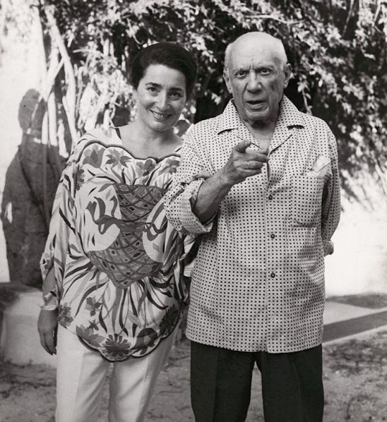 Пикассо и Жаклин Рок
