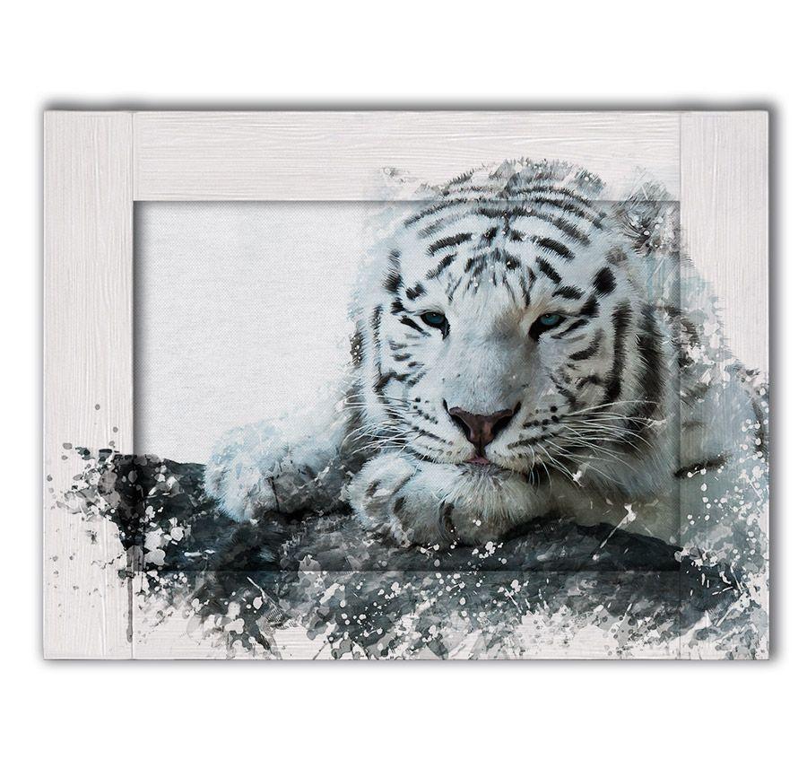 картина тигр