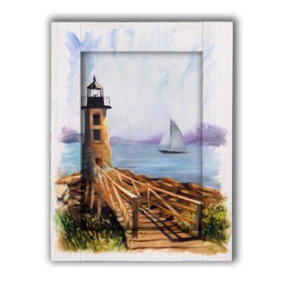 картина маяк