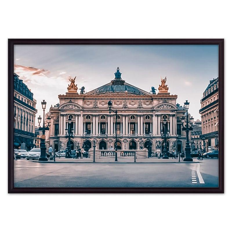 постер театр Париж