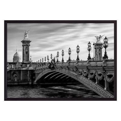 постер мост Париж