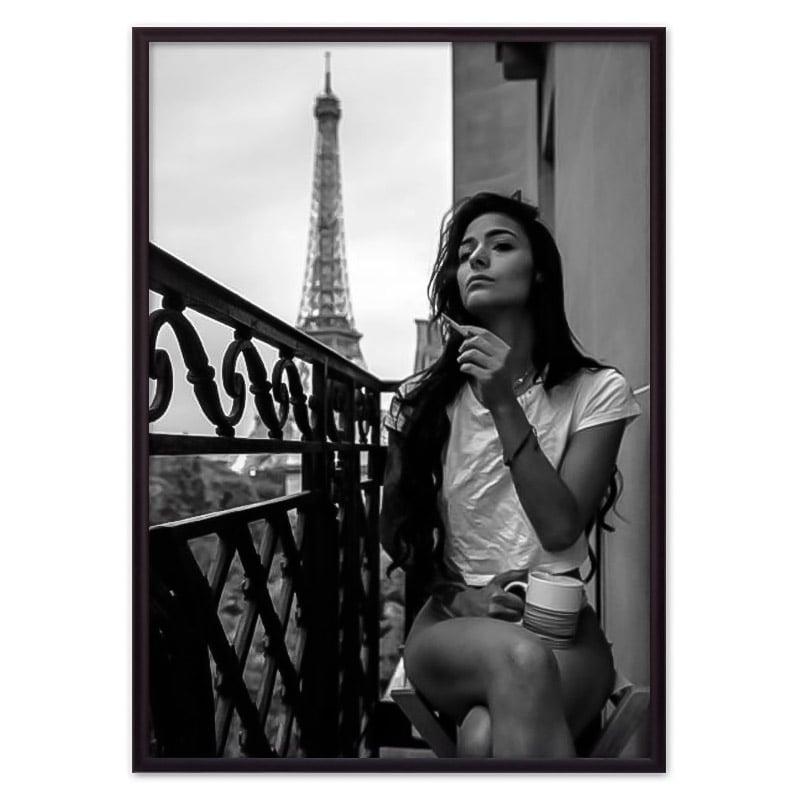 постер Парижский балкон