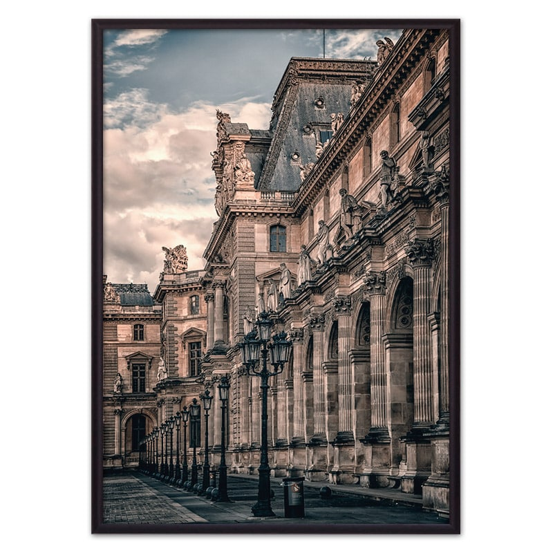 постер Лувр