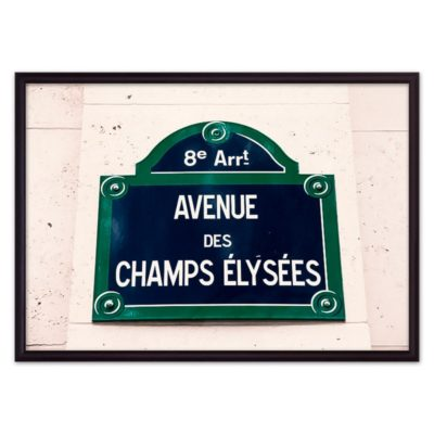 постер улица