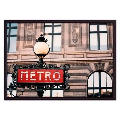 постер метро Париж